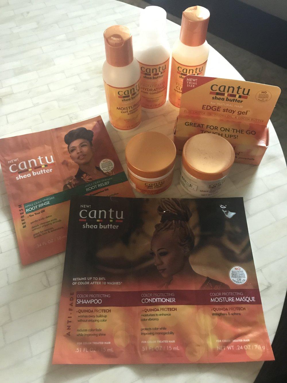 Cantu Shea Butter Hair Care Samples