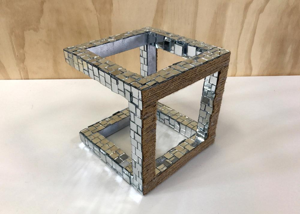 Mirror Cube (detail)