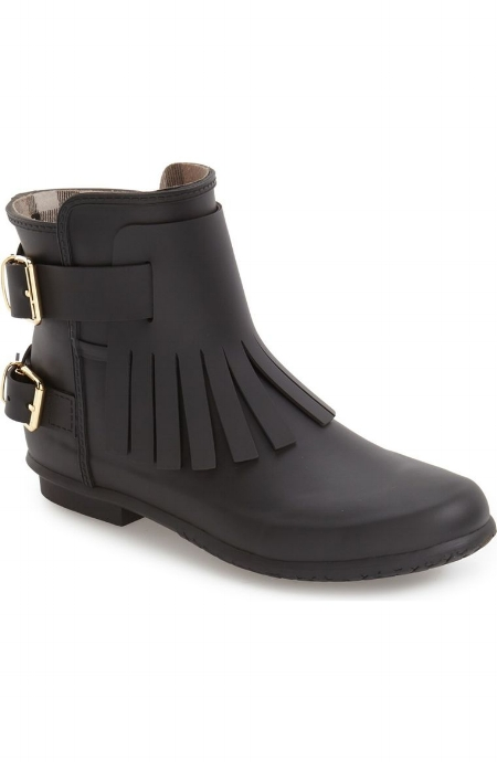 Fritten Kilton Rain Boot / Burberry / $325  Again a pricey BOOT THAT CAN DO BOTH