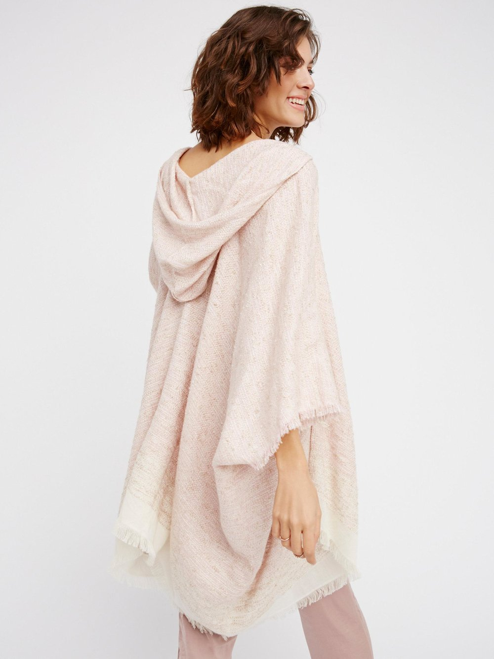 After much hunting Free People has the best section of coverups / kimonos also game changer on the HOOD on this knubby thing Knubby Hooded Kimono / Free People / $68