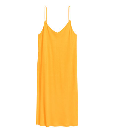 I can think of so many layering possibilities...  Knee-length jersey dress / $18 / H&M