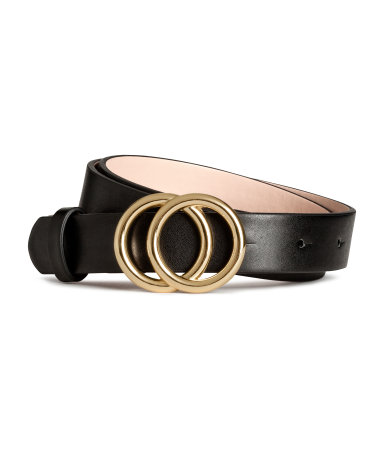 Get that Gucci look - I'd have to see this in the store but this design gives the belt more longevity Belt / $7 / H&M
