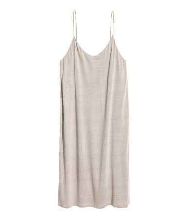 The color and cut make this a perfect whatever dress  Knee-length Jersey Dress / $13 / H&M