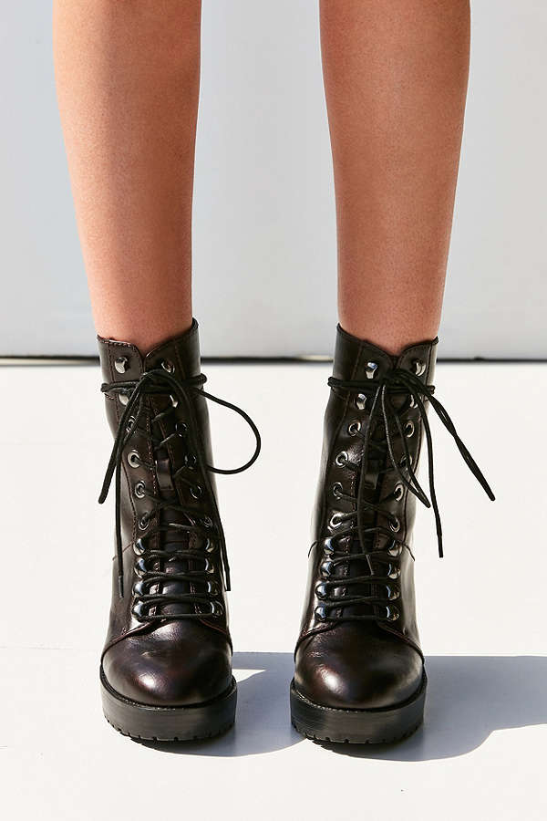 Grunge up a look with these stunners Kennedy Lace-Up Heeled Ankle Boot / Urban Outfitters / $89