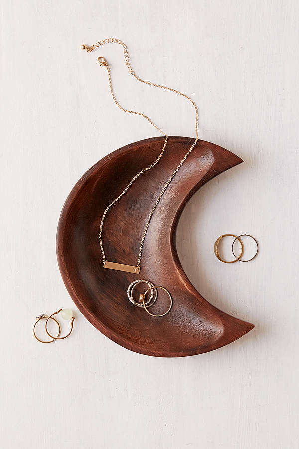 I love this for an entry way, so beautiful  Crescent Moon Catch-All Dish / Urban Outfitters / $14
