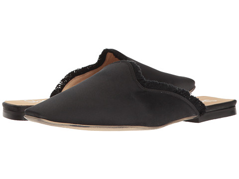 Love the Louis the XIV vibe going on here Shellys London Kat Satin Mule / Zappos / $76