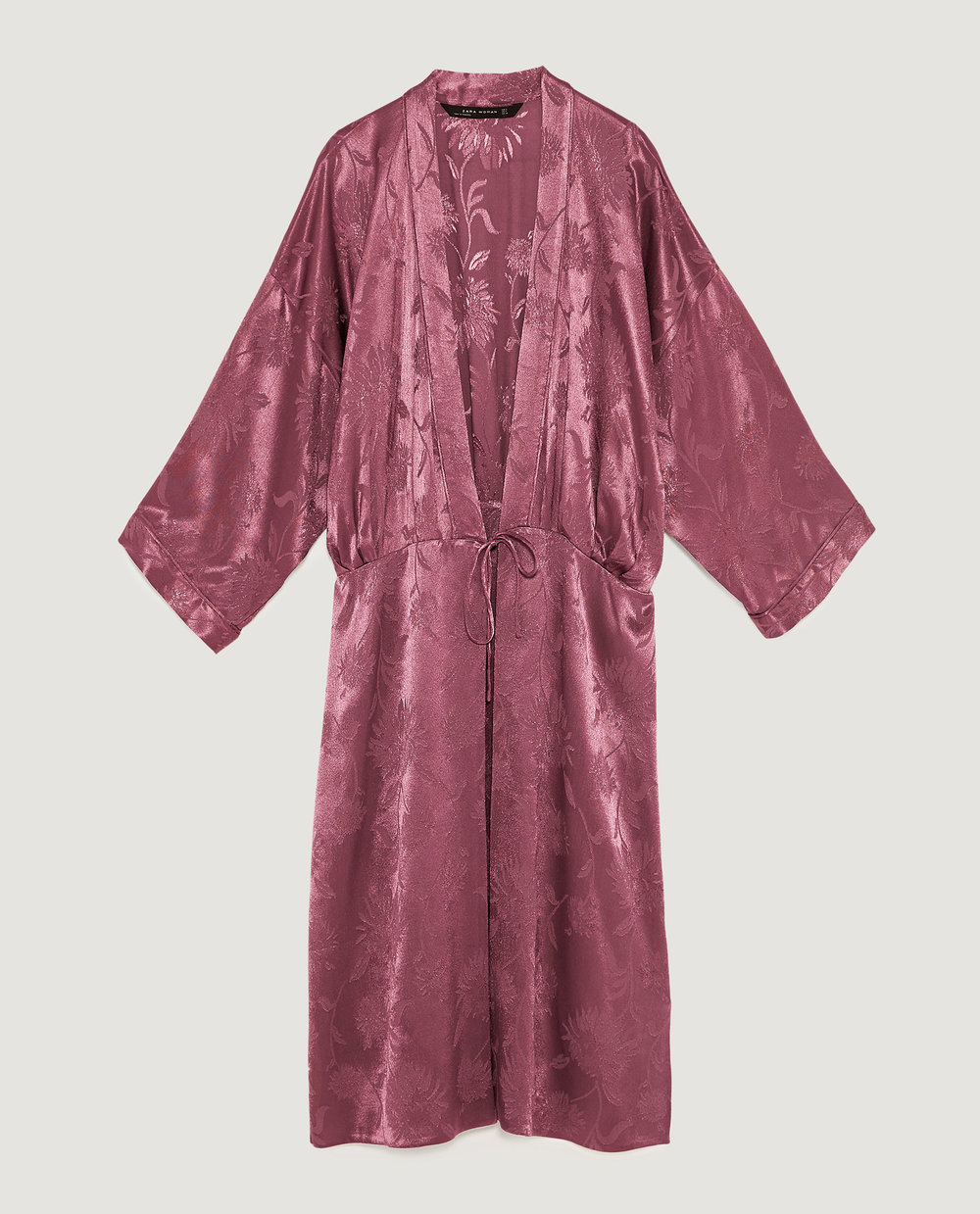 just in case you need the kimono too  Shimmery Jacquard Kimono / $80 / Zara