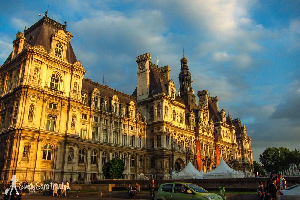 Paris'Hôtel de Ville
