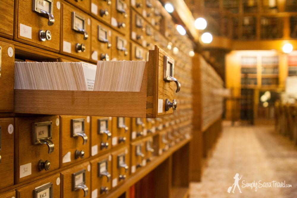 Library,Hôtel de Ville, Paris, France