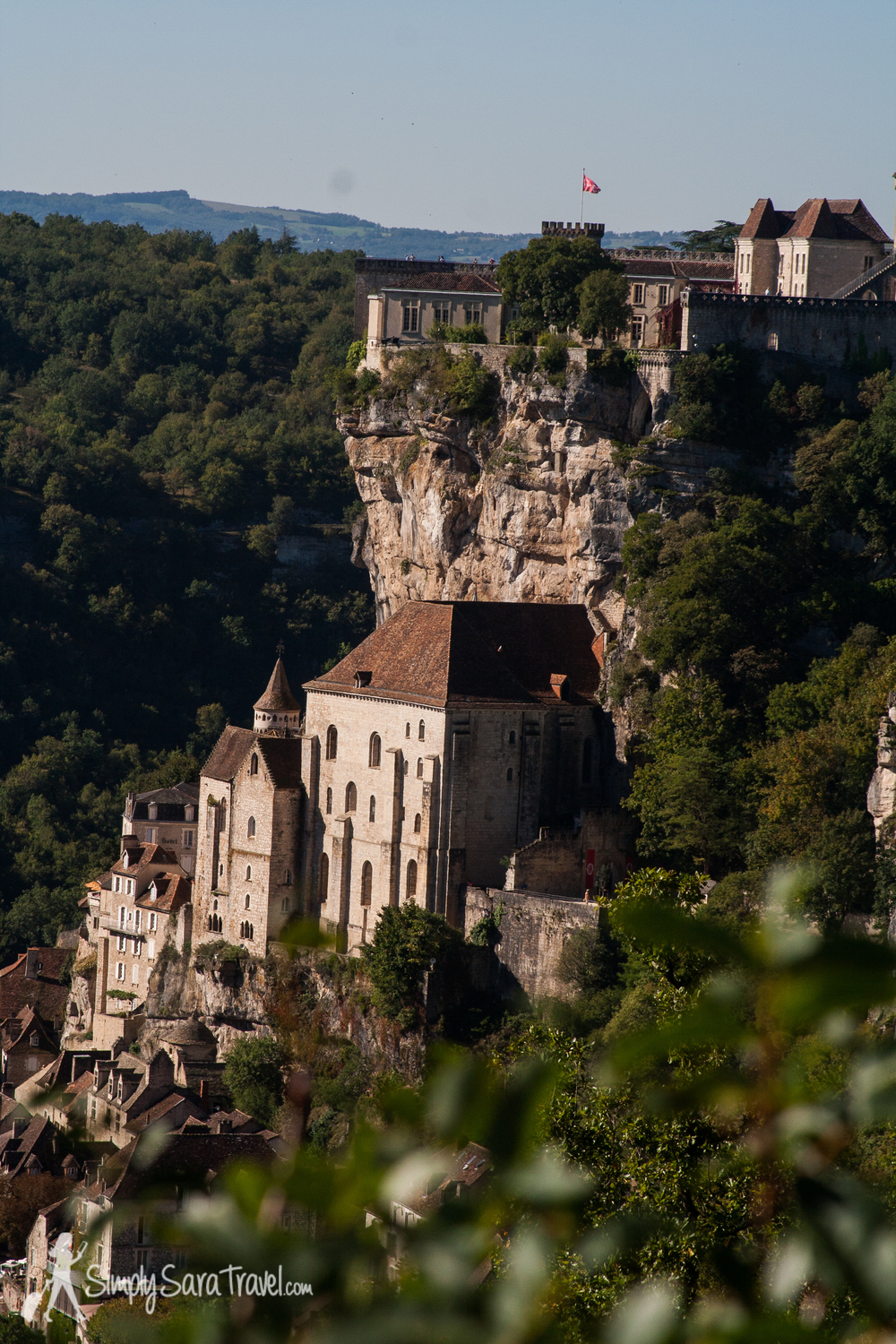 Approaching Rocamadour