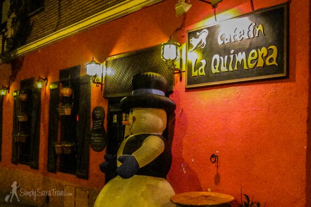 The flamenco venue - Cafetín La Quimera