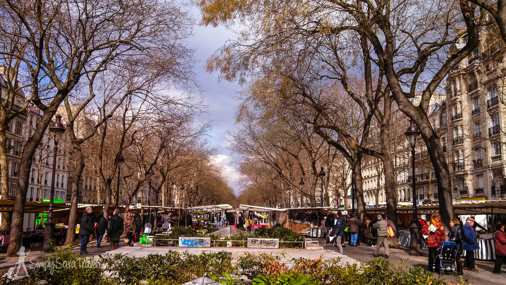 My regular market,Marché Popincourt