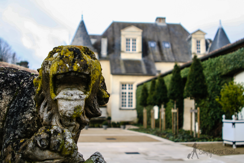 The château really was beautiful. Apparently current owner Prince Robert of Luxembourg stays here from time to time (he's the great-grandson to American Clarence Dillon who bought the estate in 1935).