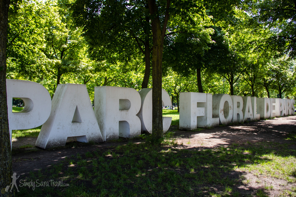 Park it in Paris Parc Floral u2014 Simply Sara Travel # Parc Floral Bois De Vincennes