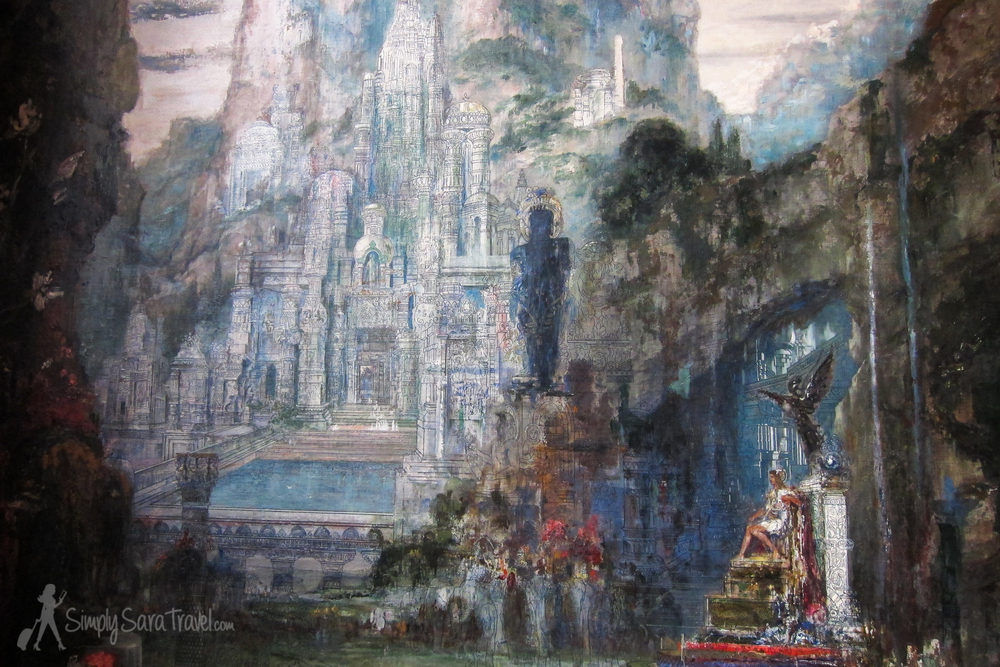Painting by Gustave Moreau in Paris