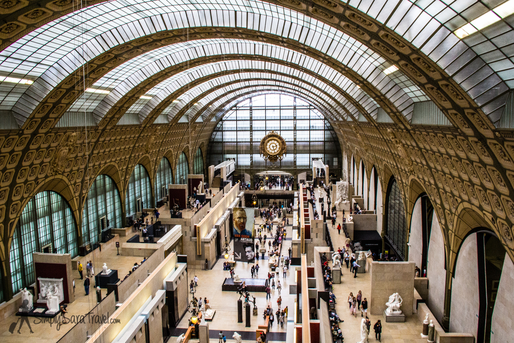 The  Musée d'Orsay  is a fabulous art museum that used to be a train station known as Gare d'Orsay in its former life!