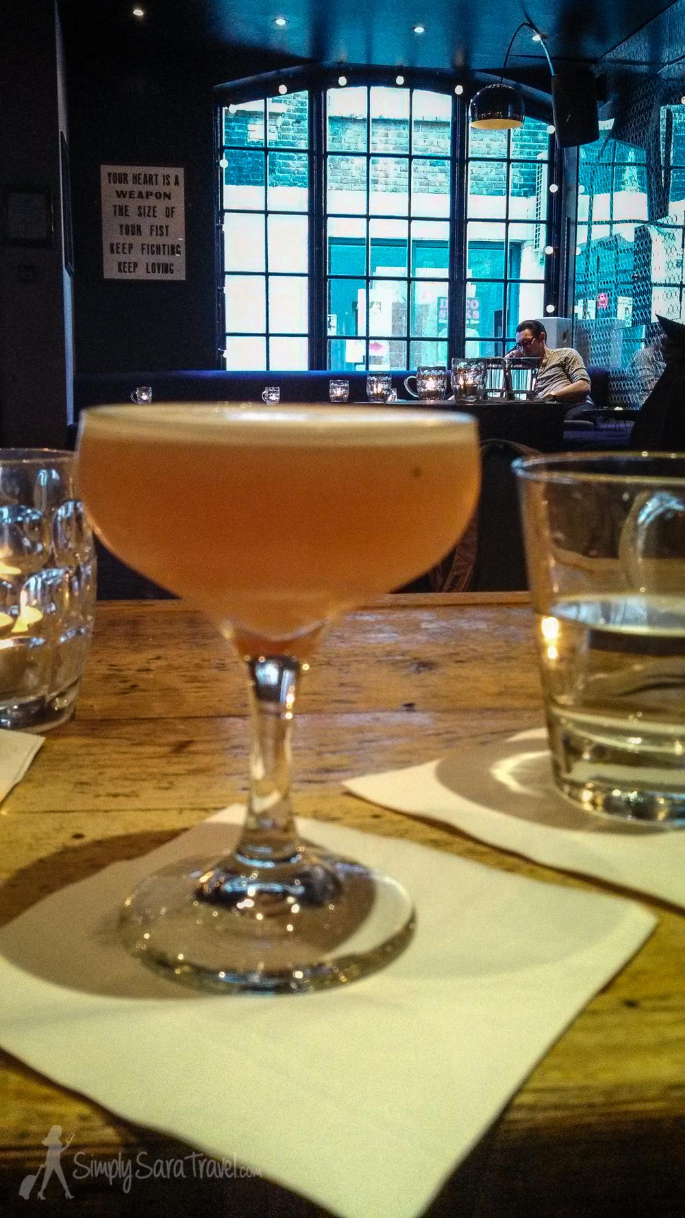 Cocktails at Callooh Callay, London