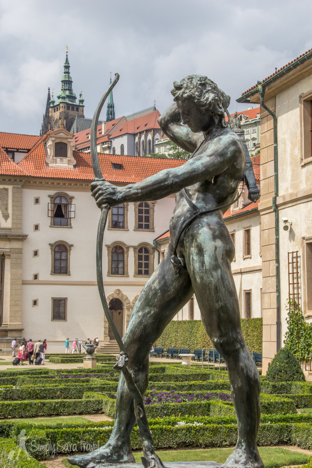 At Wallenstein Garden, Prague