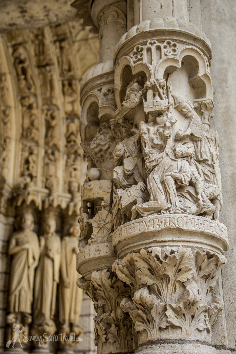 Every inch of the North Porch was full of rich detail.