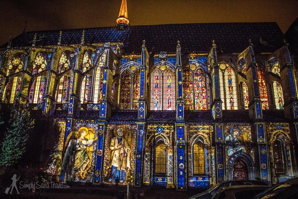 Chartres En Lumi Res Simply Sara Travel