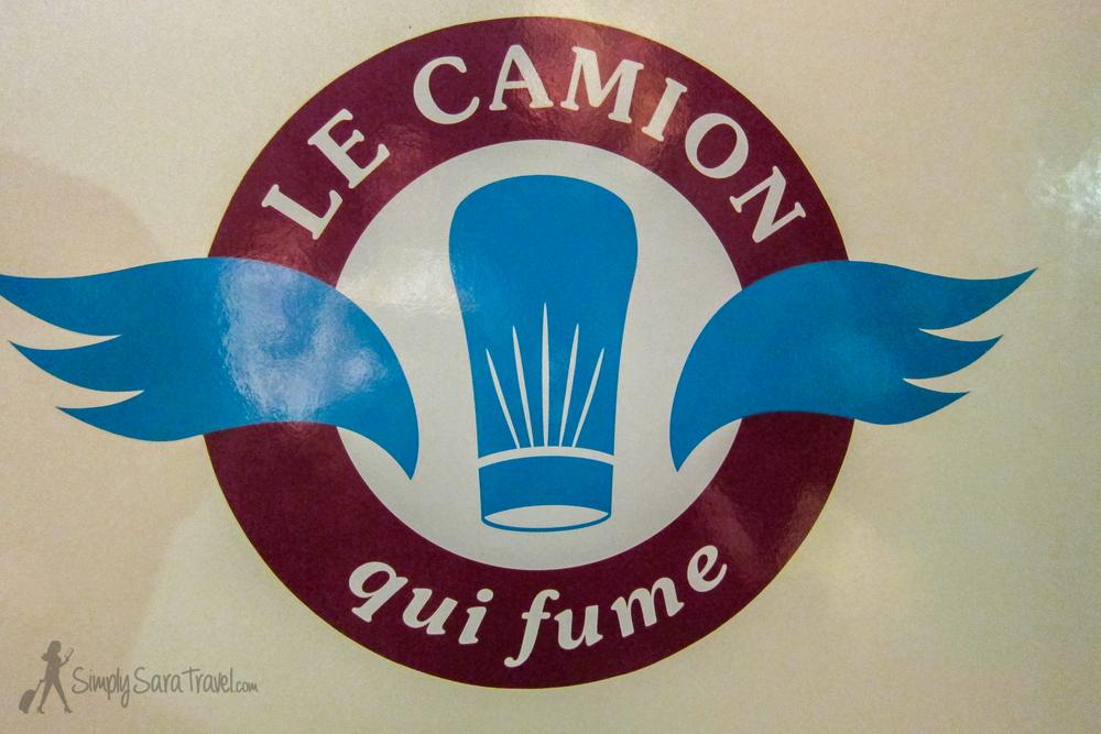 Le Camion Qui Fume Parisian food truck
