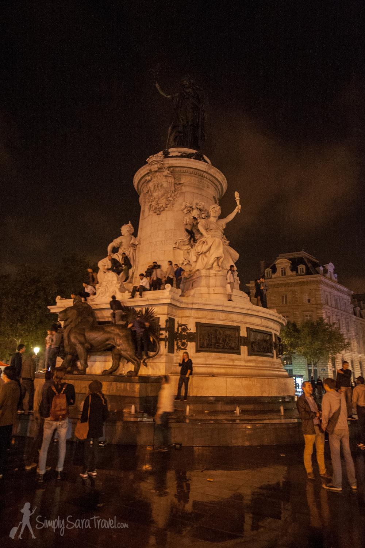 Nuit Blanche 2013 atPlace de la République