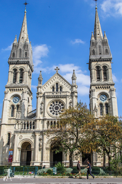 Église Saint-Ambroise in the 11th arrondissement of Paris