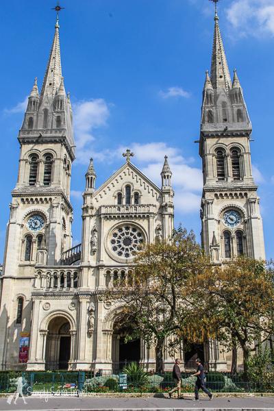 Église Saint-Ambroise in the 11th arrondissement of Paris