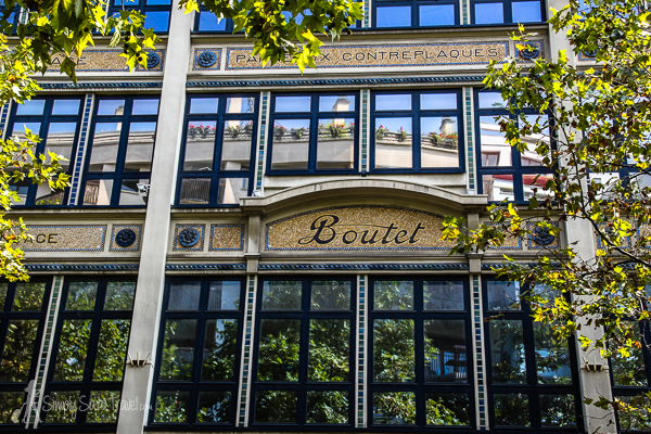 This building for Maison Boutet is from 1926