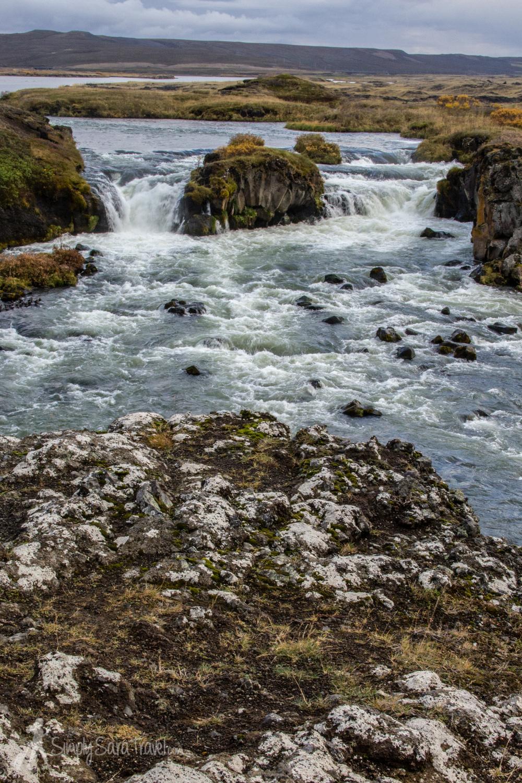 Æðafossar (Eider Falls) just outside ofHúsavík