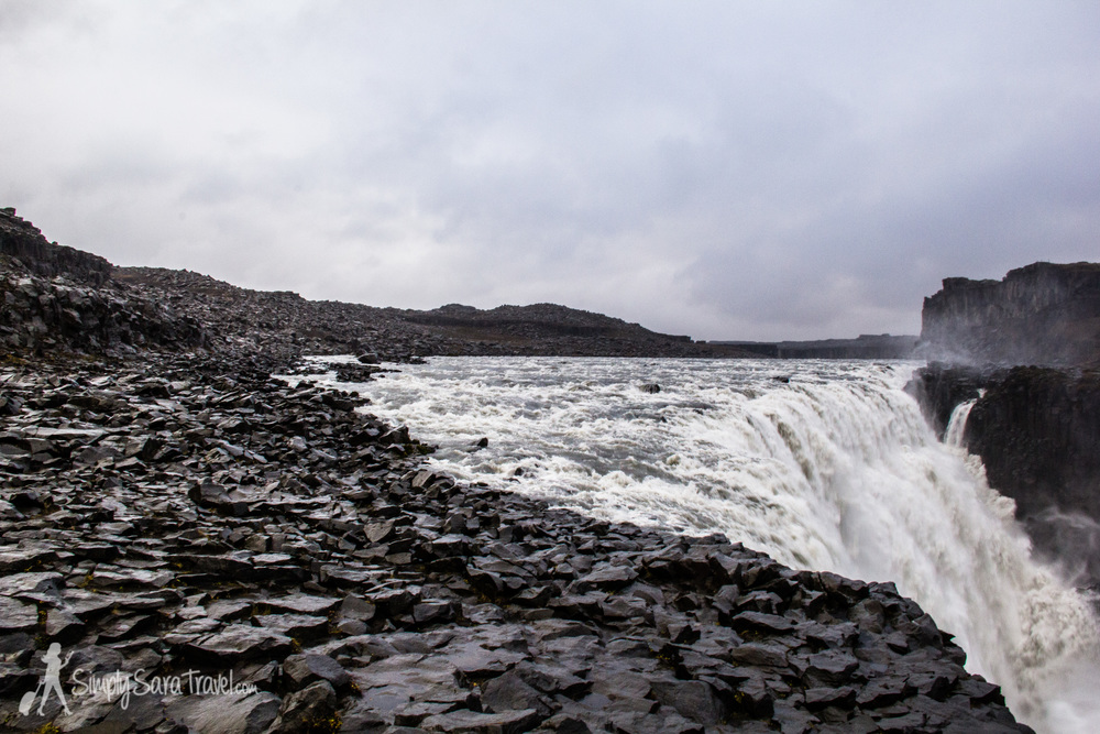Dettifoss, the most powerful waterfall in Europe (located in Iceland)