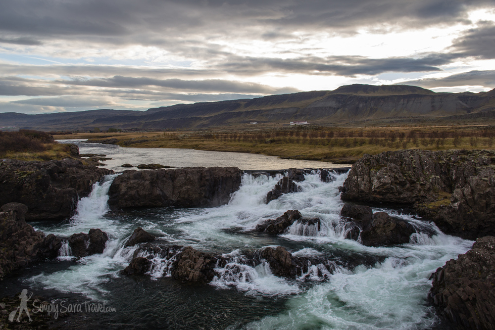 The Glanni waterfall is only 1.5 hours from Reykjavik and makes for a perfect stop.
