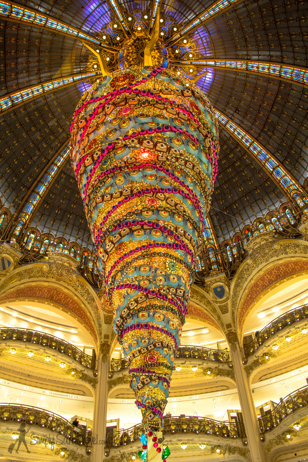 Tree at Galeries Lafayette, 2014