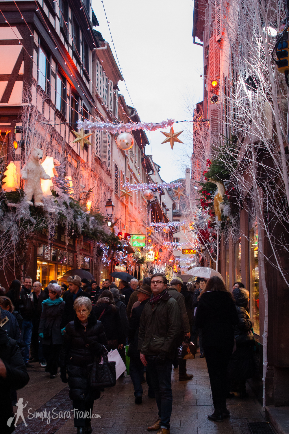 Seriously, Strasbourg takes decking its halls to a whole other level!