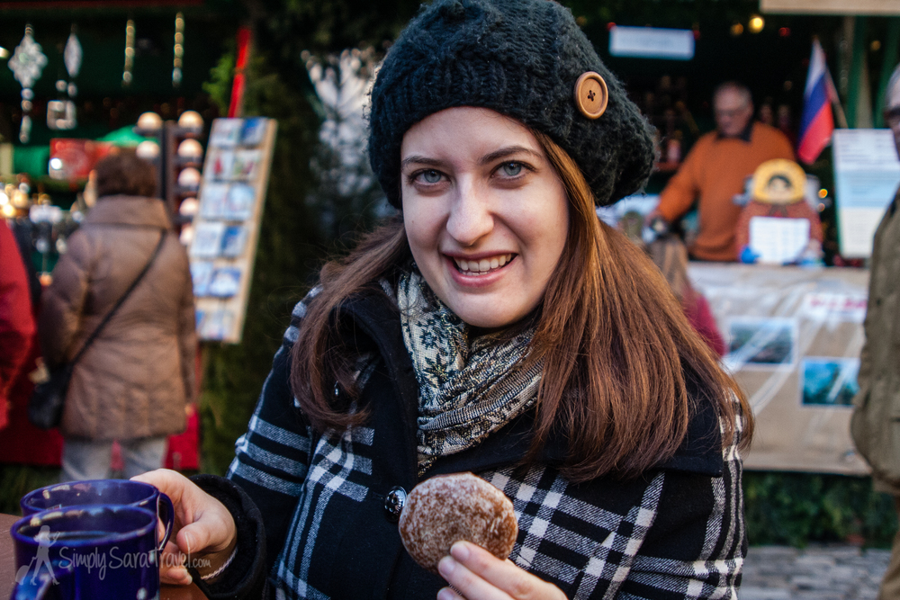 Happiness is findingLebkuchen outside of Nuremberg and getting another chance to enjoy this special Christmas cookie. This one is from Rothenburg ob der Tauber, Germany.