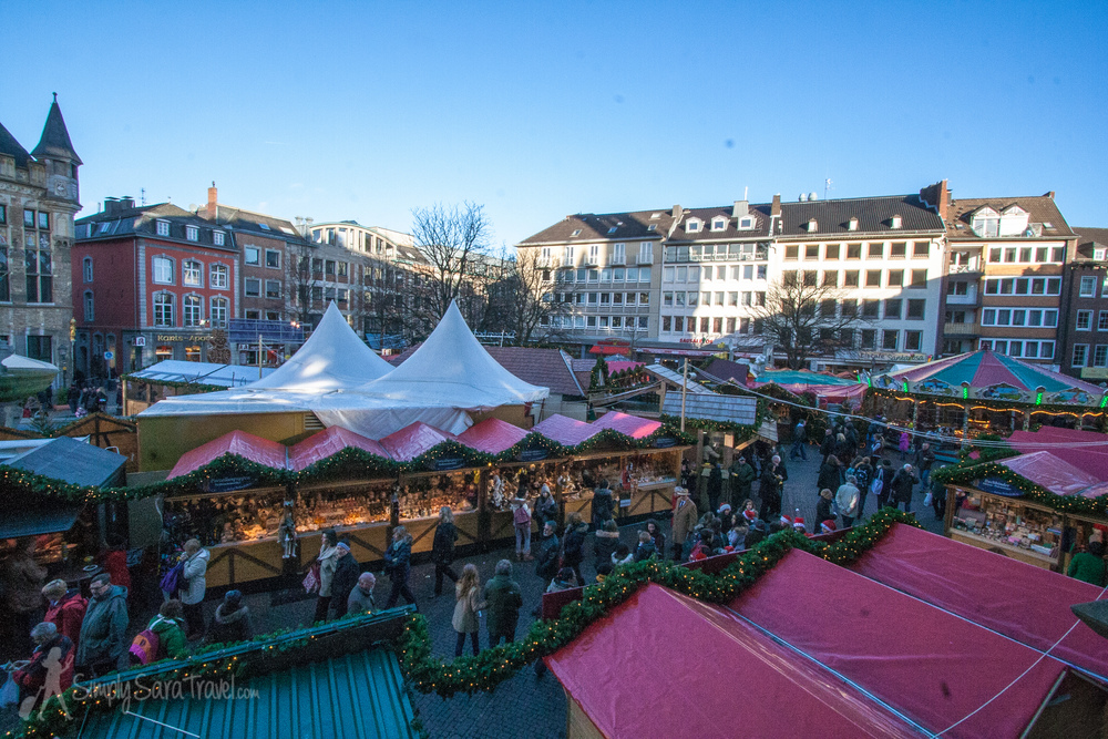 The Christmas market of Aachen, Germany