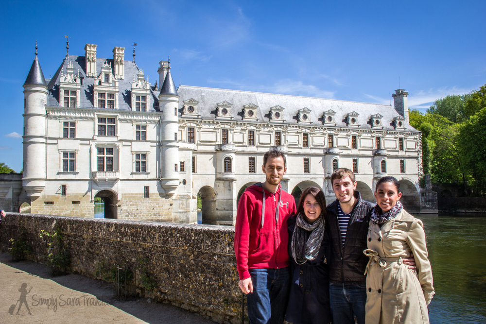 David and Carissa came for a surprise weekend visit and I was whisked away to the Loire Valley!