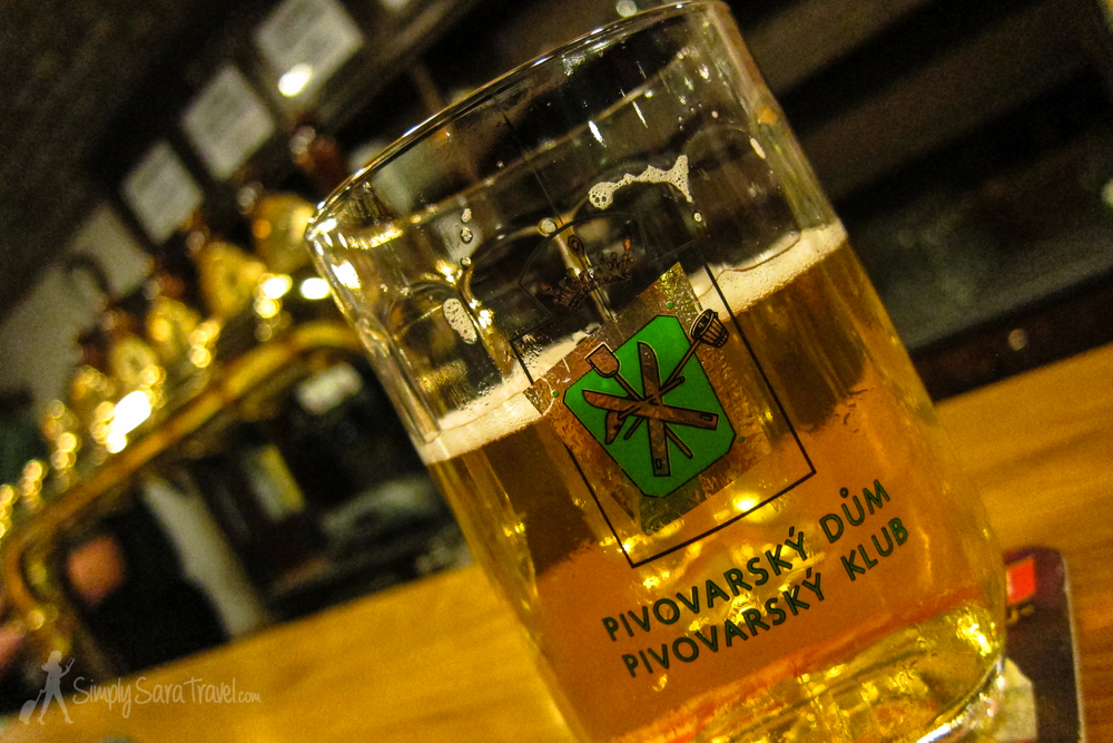 I have never thought about a beer as much as I do with the chocolate stout I had (not pictured) at this bar in Prague. Pivovarsky Klub boasts a menu of about 250 beers, the largest beer menu in the Czech Republic. If you have a talented bartender like we had, he will find your perfect beer match.