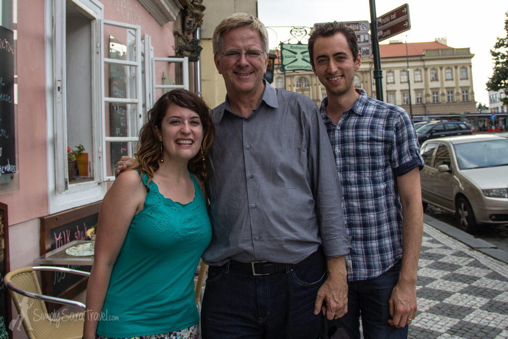 I have to include this moment because I am a huge fan of Rick Steves' travel guides. So when I met him, I obviously did not keep my cool and just started blurting out random things like a teenage girl meeting Justin Bieber.