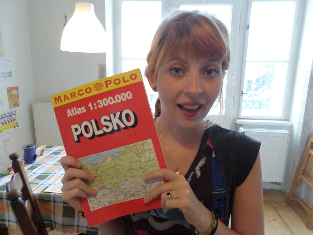 Cynthia prepares for a backpacking adventure through Poland!