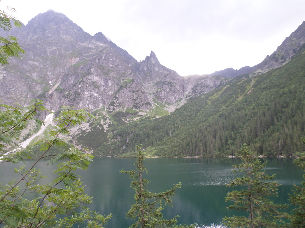 Lake at Zakopane, Poland