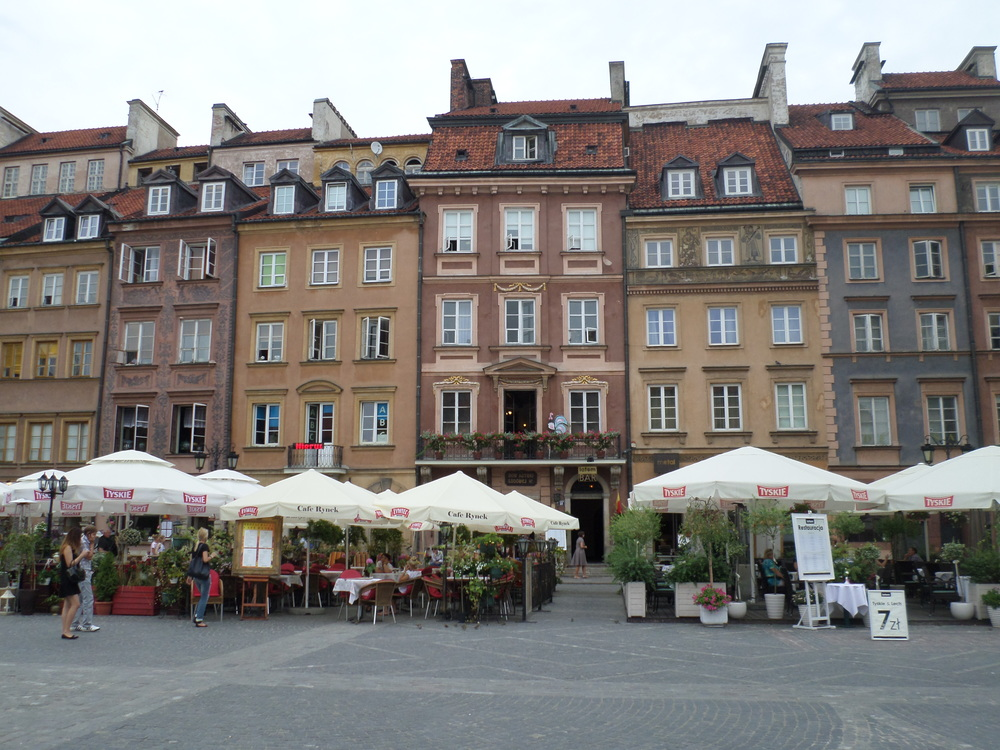 The Old Town of Warsaw, Poland