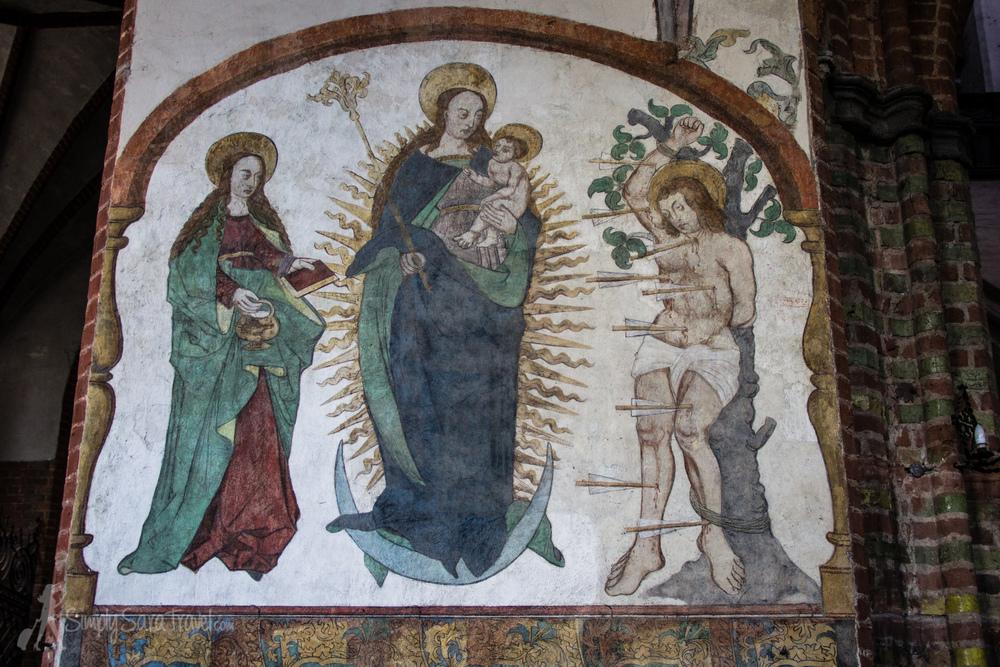 InsideToruń's St. James church (Kościół św.Jakuba)