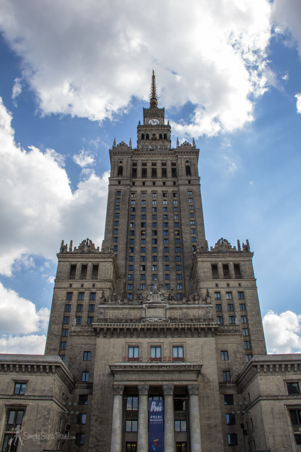 You can pop up to the 30th floor's observation deck, though as we discovered, the view isn't noteworthy. The Palace of Culture and Science itself is one of the skyline's highlights, so it doesn't help when you're looking out from this building at the rest of Warsaw.