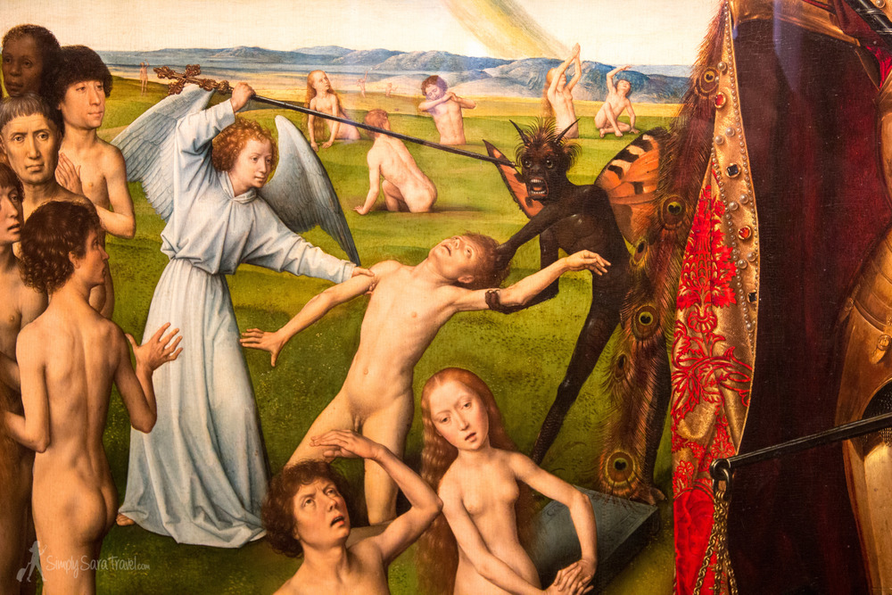 "The painting that is ""a real steal!"" Hans Memling's the Last Judgement is one well-traveled piece of art!"