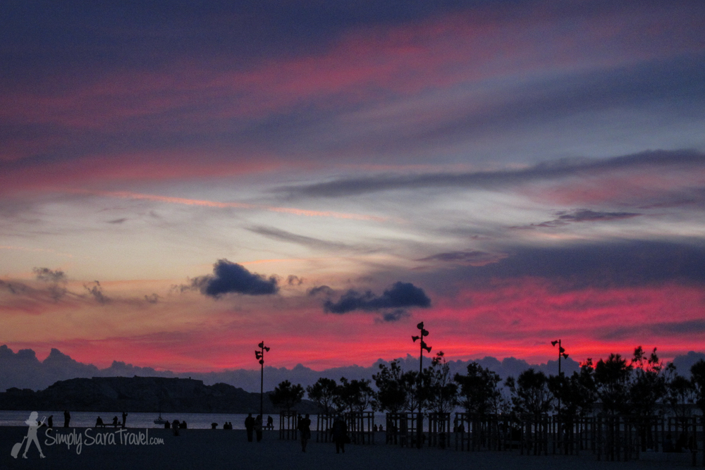 There's plenty of France to see outside of Paris - like catching stunning Mediterranean sunsets in Marseille