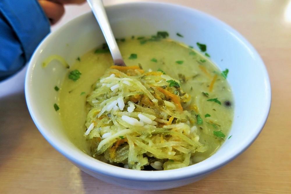 Cucumber soup (zupa ogorkowa)