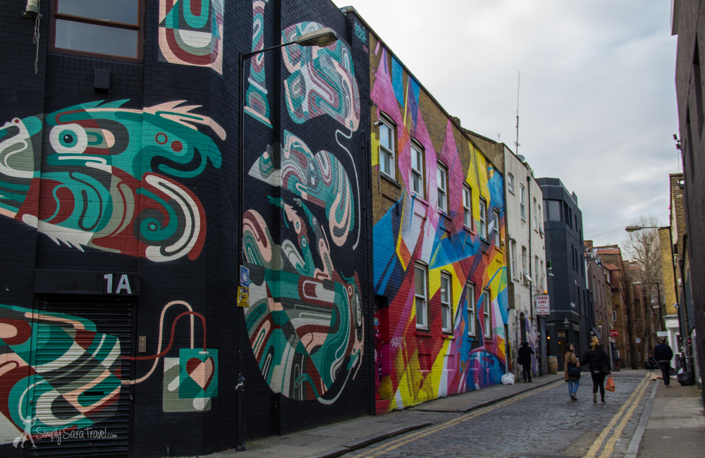 I'm drawn to Shoreditch's vibrant street art so it's the area I wanted to stay in during my last visit to London.