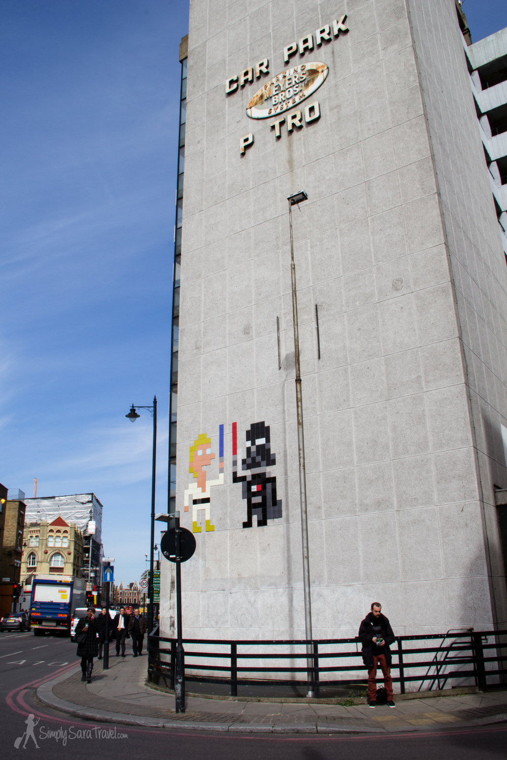 Space Invader strikes again in London!