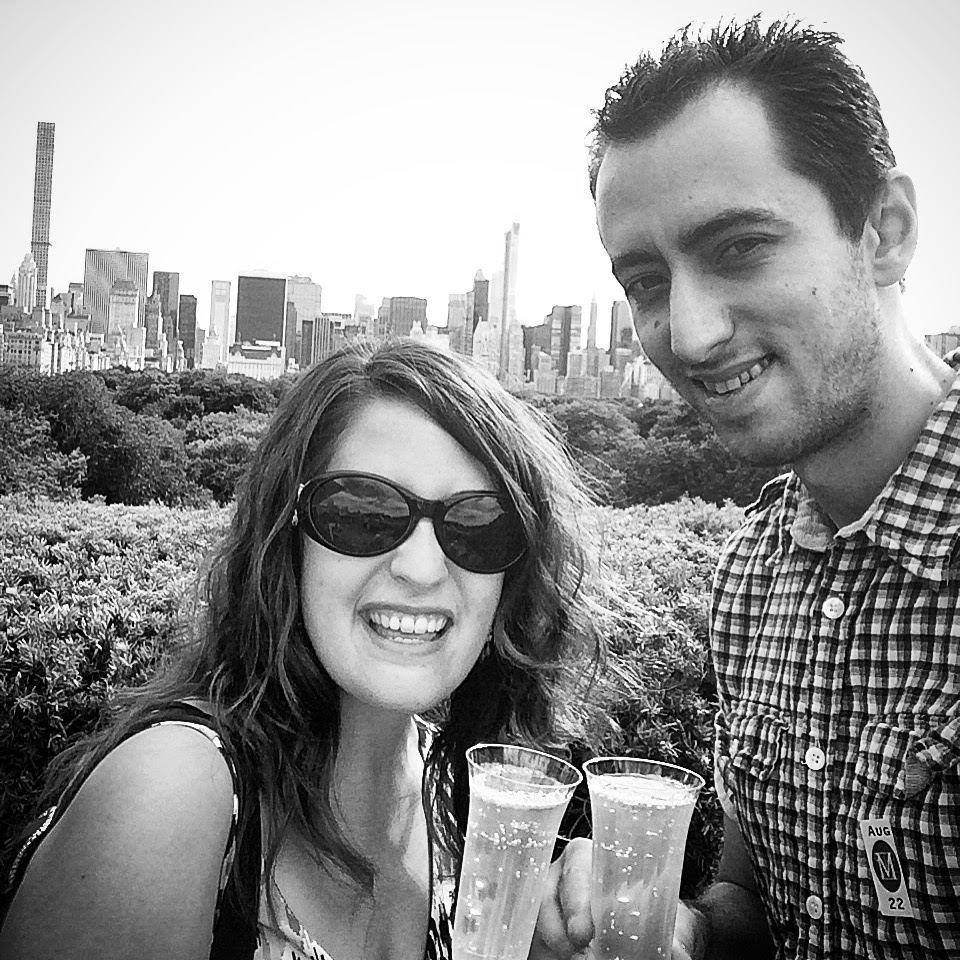 We still enjoyed our New York City summer days! Champagne on the rooftop at the Met isn't a bad addition to a weekend :-)